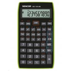 Sencor kalkulačka  SEC 105 GN - školní, 10místná, 56 vědeckých funkcí