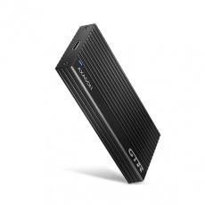 AXAGON EEM2-GTR, USB-C 3.2 Gen 2 - M.2 NVMe SSD kovový THIN RIB box