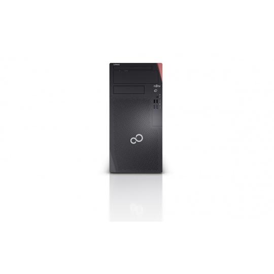 FUJITSU PC -poškozaný obal- P5010 i5-10400@4.3GHz 8GB 512NVMe 2xDisplayPort DVDRW 280W W10PRO, bez klávesnice