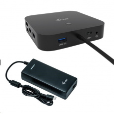 iTec USB-C HDMI DP Docking Station with Power Delivery 100 W + Universal Charger 112 W