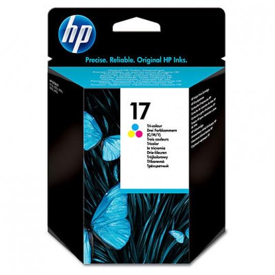 HP 17 Tri-color Ink Cart, 15 ml, C6625A