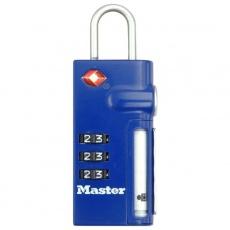 MasterLock TSA 4693EURDBLU Visací kombinační zámek