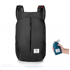 Naturehike ultralight CORDURA sbalitelný DL05 batoh 25l 160g - černý