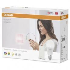 OSRAM Smart+ Startovací sada - žárovka LED RBGW, reg.bílé, DIM+bezdr. MINI přepínač bílý,LIGHTIFY  COLOR SWITCH KIT MINI