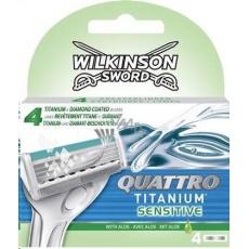 Wilkinson Quattro Titanium náhrady 4ks