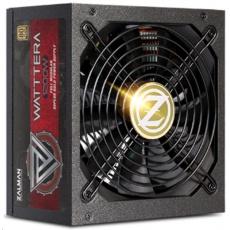 ZALMAN zdroj WATTTERA ZM1200-EBTII - 1200W 80+ Gold, 13,5cm fan, modular
