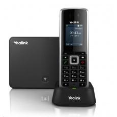 """Yealink W52P IP DECT báze+ručka, 1,8"""" 128x160 barevný LCD, PoE, až 5 ruček"""