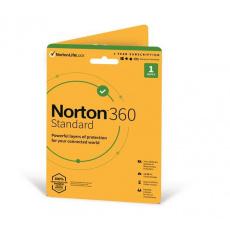 NORTON 360 STANDARD 10GB + VPN 1 uživatel pro 1 zařízení na 1rok ESD