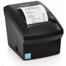 BIXOLON/Samsung SRP-330II pokladní termotiskárna, RS232/USB, černá, řezačka, zdroj