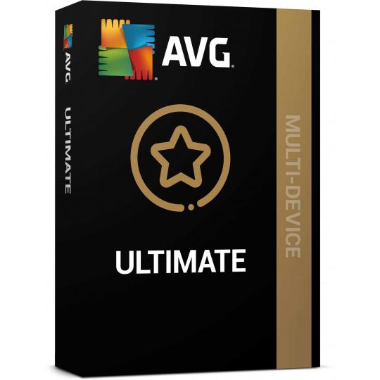 _Nová AVG Ultimate (Multi-Device, max. 10 připojených PC ) na 2 roky ESD