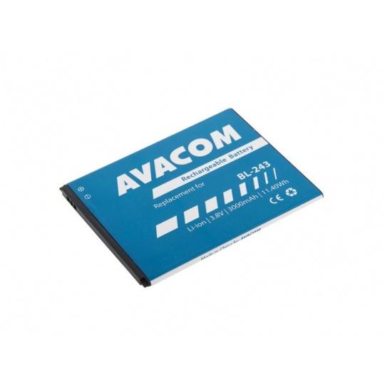 AVACOM baterie do mobilu Lenovo A7000 Li-Ion 3,8V 3000mAh (náhrada BL243)