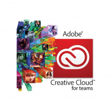Creative Cloud for teams All Apps Multiple Platforms ML Licensing Subscription NEW 1 User Level 12 10-49 1 Month