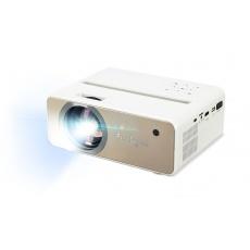 AOPEN Projektor QF12, přenosný LED, 1080p, 100 ANSI, 1000:1, HDMI, USB, repro 1x5W, 1.3 Kg, WiFi, remote control