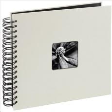 Hama album klasický špirálový FINE ART 28x24 cm, 50 strán, kriedový