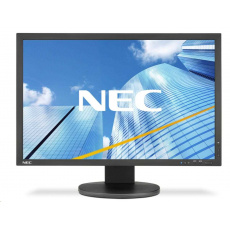 NEC MultiSync PA243W; IPS TFT;1920x1200/60Hz;8m;1000:1,350cd,DVI+HDMI+DP,D-sub