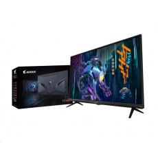 """BAZAR GIGABYTE LCD - 43"""" monitor AORUS FV43U UHD, 3840 x 2160, 144Hz, 4000:1, 750cd/m2, 1ms, 2xHDMI 2.1, 1xDP, VA QLED"""