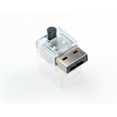 SMARTKEEPER Basic LAN Cable Lock 12 - 12x záslepka, černá